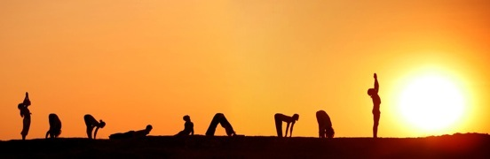 yoga blog post on sun salutations